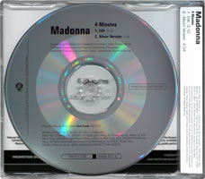 MADONNA - 4 MINUTES - German Promo CD (PR017108)