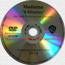 MADONNA 4 Minutes - 2008 US In-House Promo DVD-Reference (14/04/08)