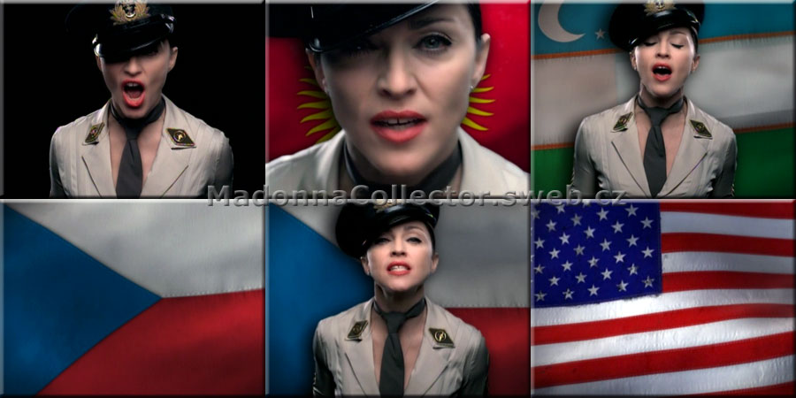 MADONNA American Life - Flags Version Video on Promo Only DVD