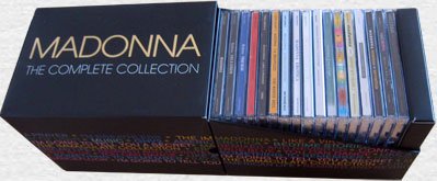 MADONNA The Complete Collection - 2006 UK Promo Box Set
