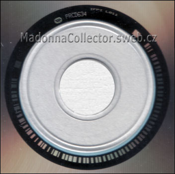 MADONNA Buenos Aires - Matrix Number on German 2-trk Promo CD Single (PRCD 634)