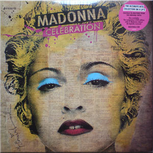 MADONNA Celebration - 2009 EU 4LP Set (9362-49729-3)