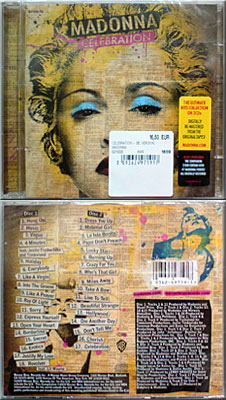 MADONNA Celebration - 2009 2CD Album