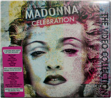 MADONNA Celebration - 2009 DVD Digipak