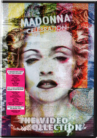 MADONNA Celebration - 2009 DVD Album