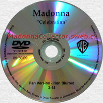MADONNA Celebration - 2009 US Promo DVD