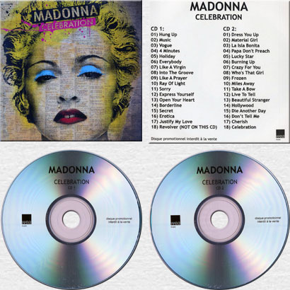 Madonna Collector CZ - CELEBRATION - The Album Discography
