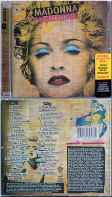MADONNA Celebration - 2009 South African 36-track 2CD album (WBCD 2224)