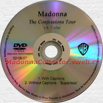 MADONNA The Confessions Tour UK Trailer - 2007 US In-House Promo DVD-Reference (02/08/07)