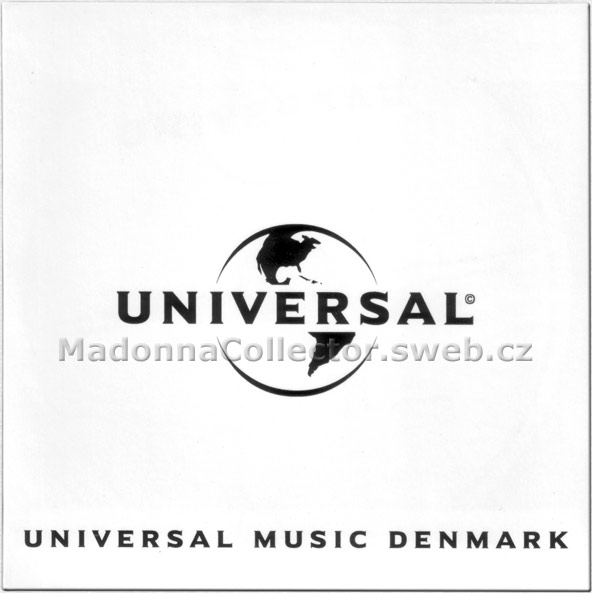 MADONNA & LMFAO & NICKI MINAJ - Give Me All Your Luvin' - 2012 Denmark 1-trk Promo CD