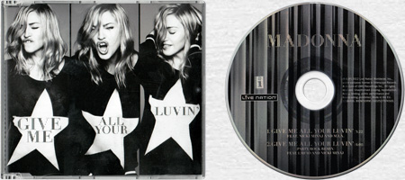 MADONNA & NICKI MINAJ & M.I.A. - Give Me All Your Luvin' - 2012 German 2-trk CD