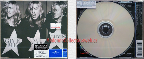 MADONNA & NICKI MINAJ & M.I.A. - Give Me All Your Luvin' - 2012 Thai 2-trk CD Single (602527974569)
