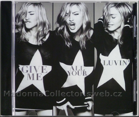 MADONNA & NICKI MINAJ & M.I.A. - Give Me All Your Luvin' - 2012 USA 1-trk Promo CD-R