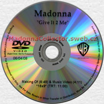 MADONNA Give It 2 Me - US Promo DVD-Reference