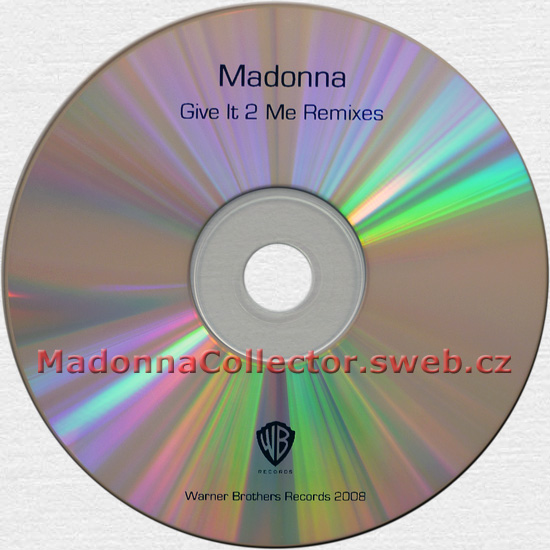 MADONNA Give It 2 Me - 2008 UK 6-mix Promo CD-R