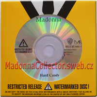 MADONNA - Hard Candy - 2008 USA Advance Promo Watermarked CD-R
