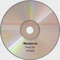 MADONNA Hung Up (30 seconds snippet) - 2005 UK Advance Promo CD-Reference