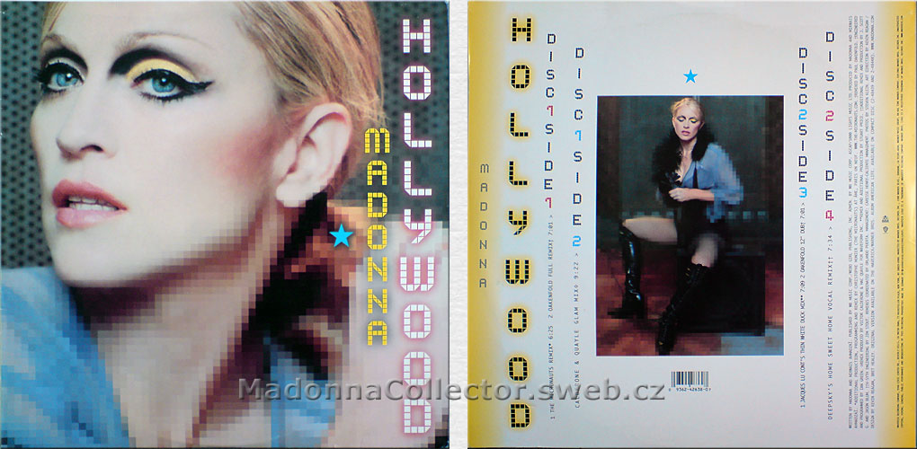 "MADONNA Hollywood - 2003 German 12"" Doublepack (9362-42638-0)"