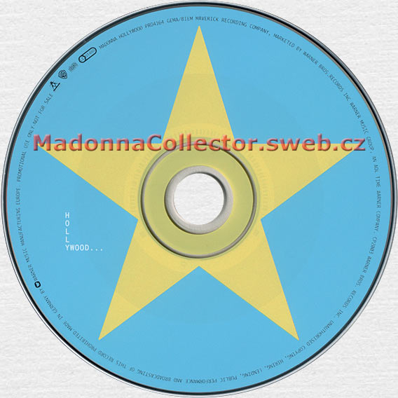 MADONNA Hollywood - 2003 German 5-mix Promo CD in Picture Cardsleeve (PR04164)