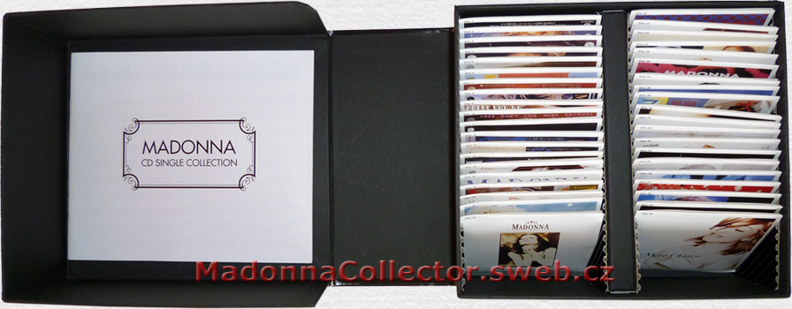 "MADONNA 40 CD Single Collection - 1997 Japanese 40x3"" CD Single Box Set (5439-17315-2)"