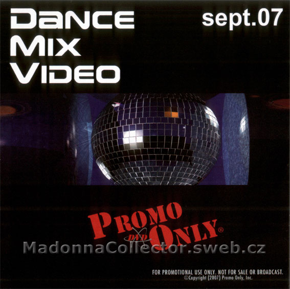 MADONNA Jump - Jacques Lu Cont Remix Video on Promo Only DVD