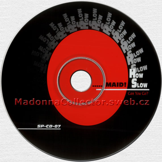 "MADONNA Keep It Together Razormaid! Remix - Featured on 1990 US 11-trk Promo CD ""How Slow Can You Go?"" (SP-CD-07)"