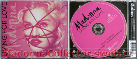 MADONNA - Living For Love - 2015 German 2-trk CD Single
