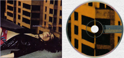 MADONNA Nothing Really Matters - 1998 Thai 3-trk CD Single in cardsleeve (9362-44620-2)