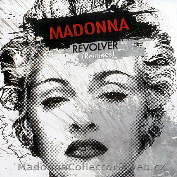 MADONNA - Revolver Remixes - 2009 USA 8-track CD-Reference (12/16/09)
