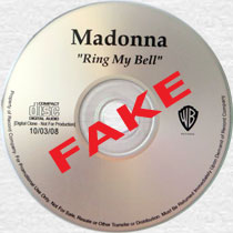 MADONNA Ring My Bell - FAKE CD-Reference