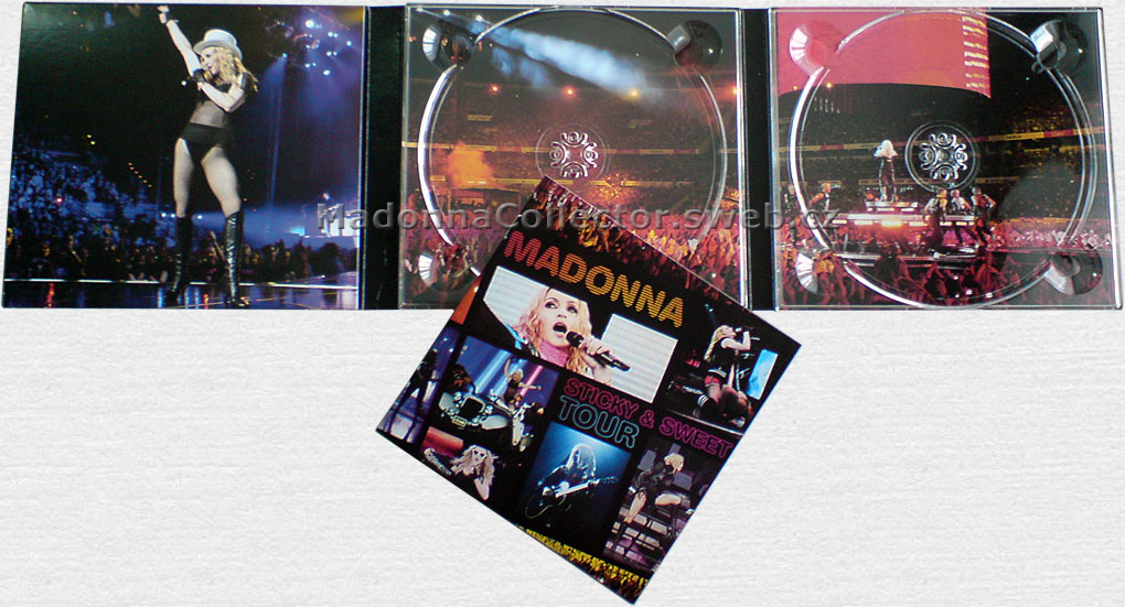MADONNA Sticky & Sweet Tour - 2010 U.K. DVD + CD Doublepack (9362-49728-4)