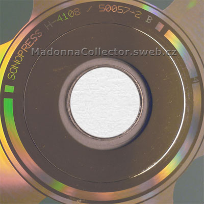 MADONNA The Immaculate Collection - 1993 Czech 2nd Re-Issue CD (50057-2 / 7599-26440-2)