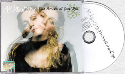 MADONNA The Power Of Good-Bye - 1998 Mexican 5-trk CD Single (9362-44591-2)