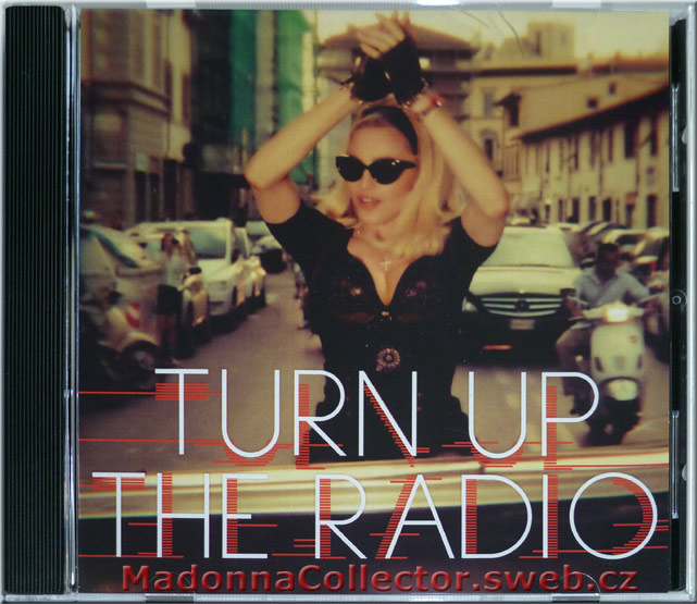 MADONNA - Turn Up The Radio - 2012 USA 1-trk Radio Promo CD-R