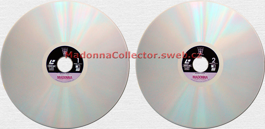 Madonna - Who's That Girl Live In Japan - 1987 Japanese LaserDisc (08WL-35)